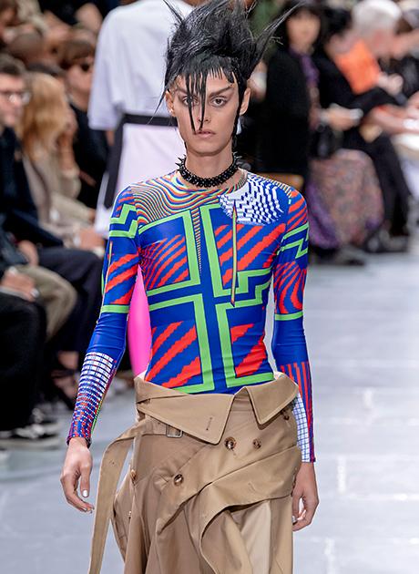 Spring Summer 2021 Print Trend Twisted Geometry Patternbank