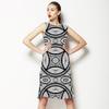 Mono Tribal Damask (Dress)