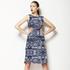 Navy Bohemian Ethnic Print (Dress)