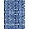 Navy Bohemian Kaleidoscopic Print (Original)
