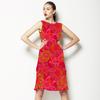 Vibrant Burgeon (Dress)
