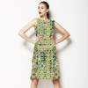Green Mosaic Tile (Dress)