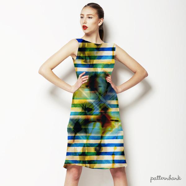 Batik With Stripe
