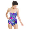 Mozaic Stripe Blue (Swimsuit)