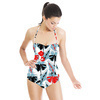 Bold Graphic Floral (Swimsuit)