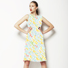 Guava Garden Dash Texture (Dress)