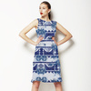 613 Indigo Floral Navaho (Dress)