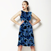 612 Indigo Floral Print (Dress)