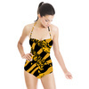 Jumping Tiger Seamless Design (Swimsuit)