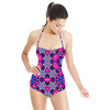 Geometric Superstar Pattern. (Swimsuit)