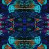Blue Abstract Texture (Original)