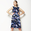 Blue Camouflage (Dress)