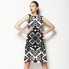 Black and White Geo (Dress)
