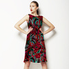 Line of Red Roses No1 (Dress)