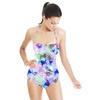 Watercolor Floral Cascade (Swimsuit)