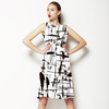 Ink Abstract (Dress)