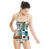 Modern Patchwork Finds (Swimsuit)