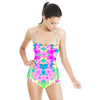 Faded Neons Tropical Print (Swimsuit)