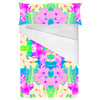 Faded Neons Tropical Print (Bed)