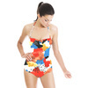 Primary Abstract (Swimsuit)