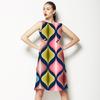 Marsala Ogee (Dress)
