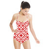 Geometric Print in an Ethnic Style (Swimsuit)