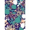 Retro Floral Scatter Green (Original)