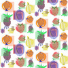 Fun, Whimsical and Colorful Fruit Design in Repeat (Original)
