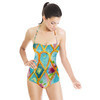 Stained Glass Floral (Swimsuit)