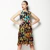 Fractured Animal Print - ESTP_DIANA_0011 (Dress)