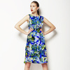 Seamless Abstract Colorfull Inspired Ornamental Floral Textile (Dress)