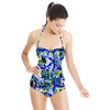 Seamless Abstract Colorfull Inspired Ornamental Floral Textile (Swimsuit)