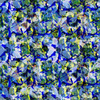 Seamless Abstract Colorfull Inspired Ornamental Floral Textile (Original)
