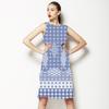 Blue Mosaic (Dress)
