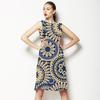 629 Cercle Mosaic Print (Dress)