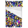 Seamless Abstract Colorful Inspired Handmade Floral Textile (Bed)