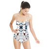 Seamless Geometric Camouflage Abstract Textile (Swimsuit)
