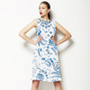 630 Pottery Floral Print (Dress)
