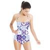 Blue Tile (Swimsuit)
