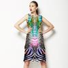 Snake Skins Colorful (Dress)
