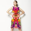 Exotic Flower Collage (Dress)