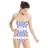 Folk Painting Gzhel (Swimsuit)