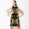 Yellow Tribal Hybrid Print (Dress)