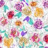 Scribble Roses (Original)