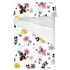 Little Girls Black Butterfly Floral (Bed)
