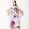 Hand Drawn Watercolor Roses Seamless Pattern (Dress)