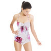 Hand Drawn Watercolor Roses Seamless Pattern (Swimsuit)
