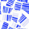 Ripped Paper Stripes Seamless Pattern (Original)