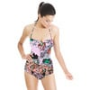 Abstract Floral1 (Swimsuit)