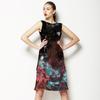 Zig Zag & Flowers (Dress)